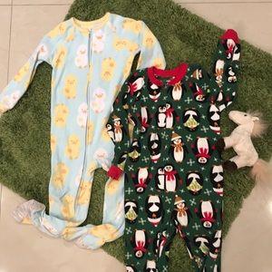 Carter's bundle of pajamas!